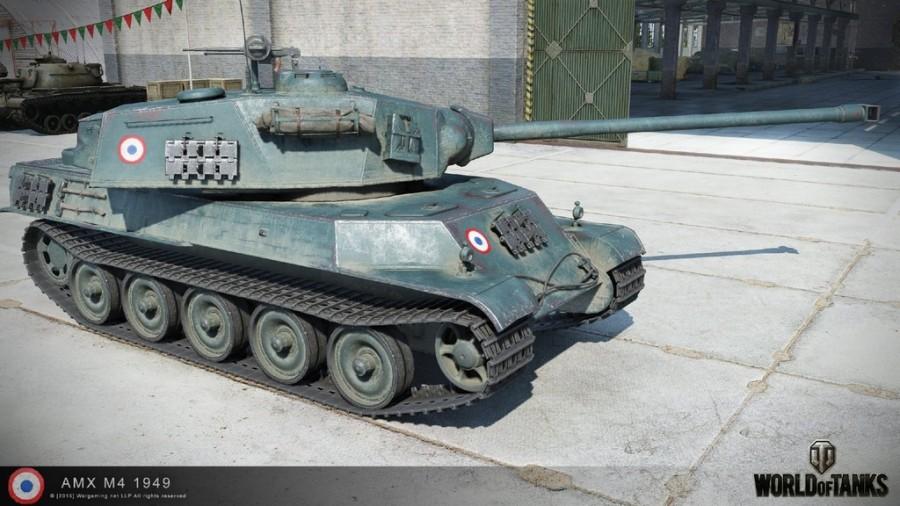 Танк AMX M4 mle. 49