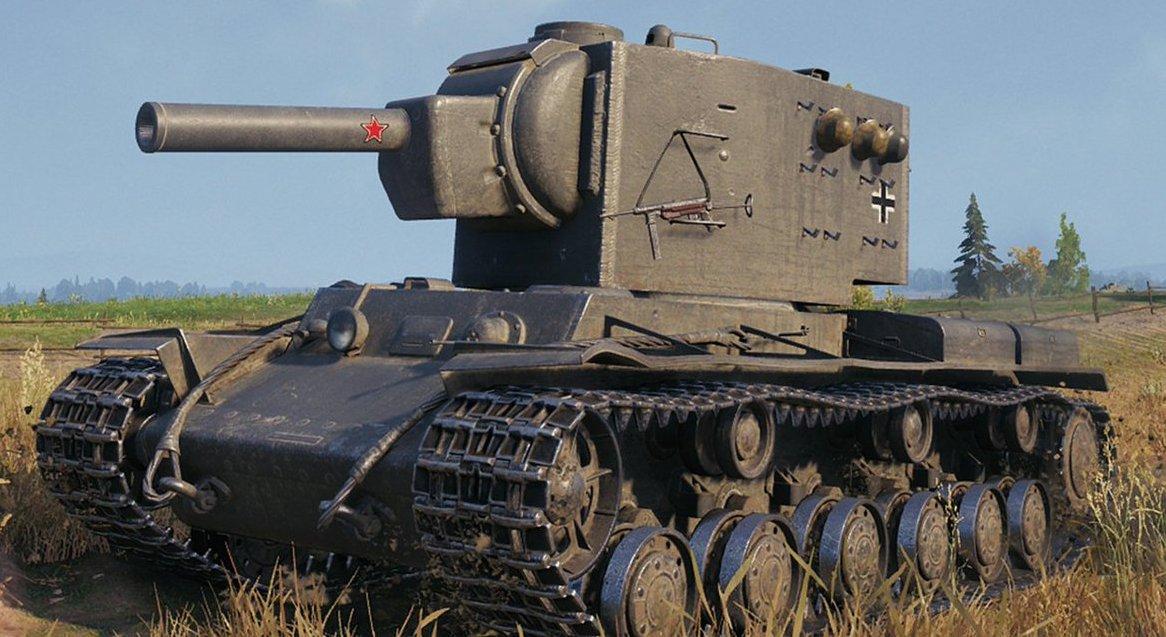 Танк КВ-2 в WoT