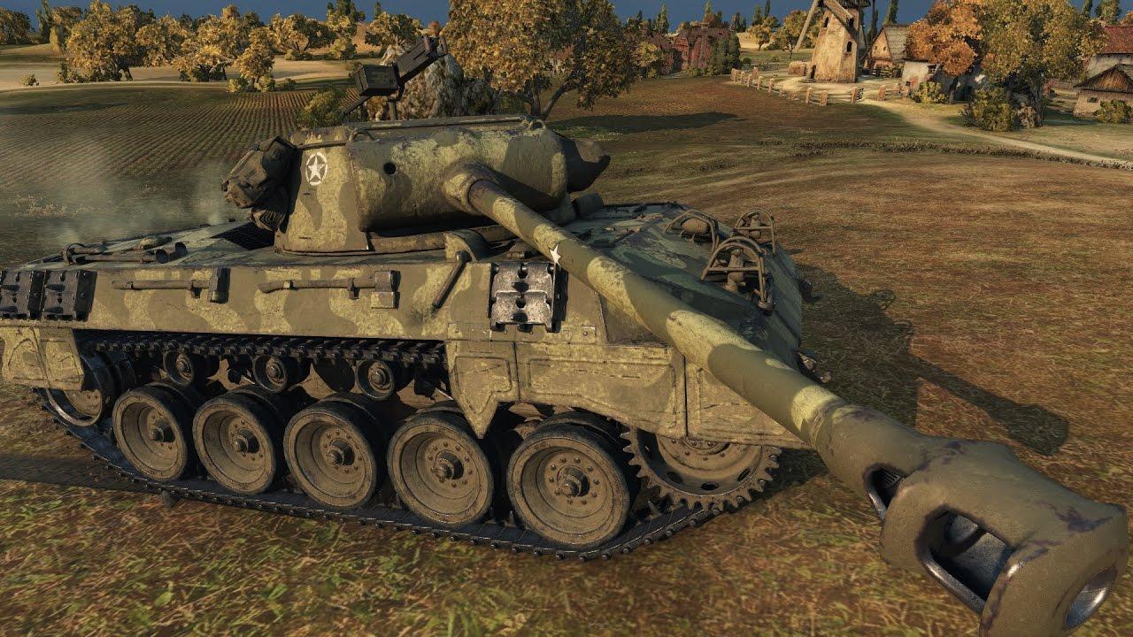 Танк М18 Hellcat в WoT
