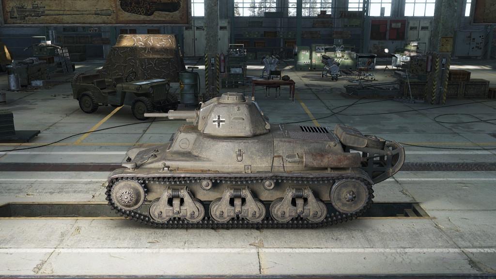 Танк Pz.Kpfw. 38H 735 (f) в игре