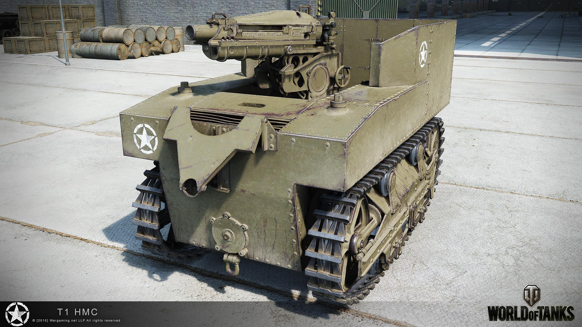 Танк T1 HMC