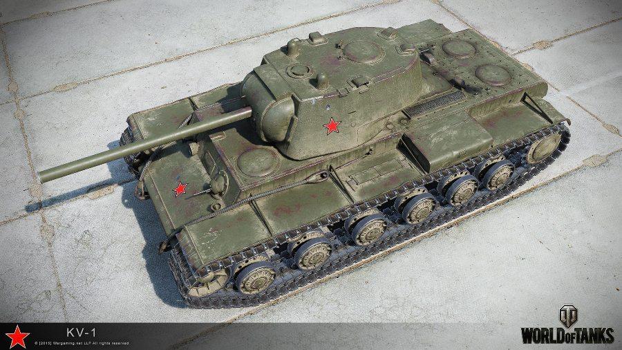 Танк КВ-1 в игре