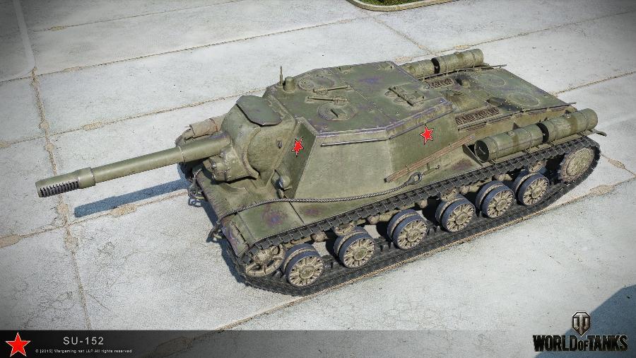 СУ-152 в WoT