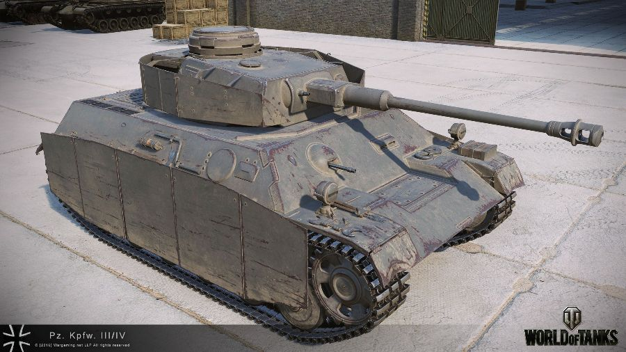 Pz-III-IV в World of Tanks