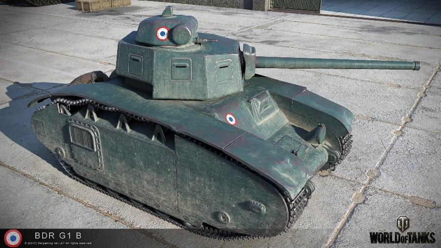 Танк BDR G1B в WoT