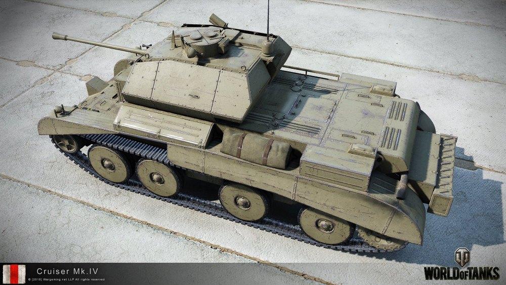 Танк Cruiser Mk. IV в WoT