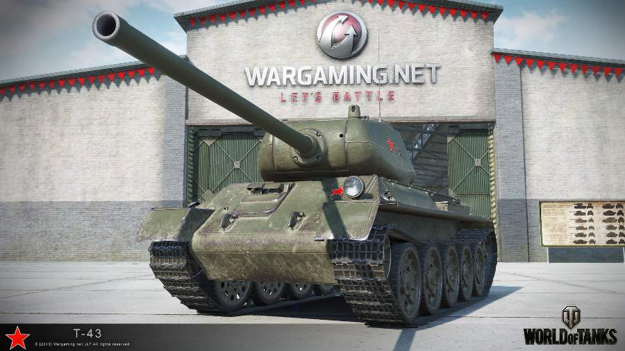 Танк Т-43 в WoT