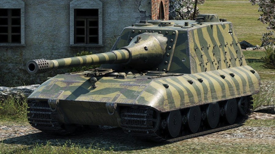 JagdPanzer E-100 в World of Tanks