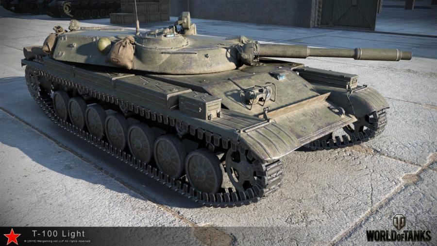 T-100 ЛТ в WoT