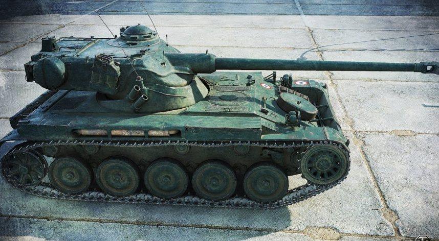 Танк AMX 13 90 в WoT
