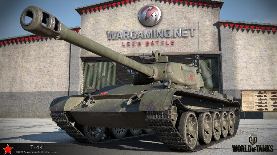 Танк Т-44 в WoT