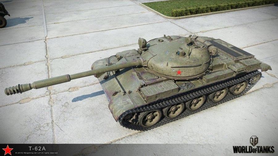 Танк Т-62 в WoT